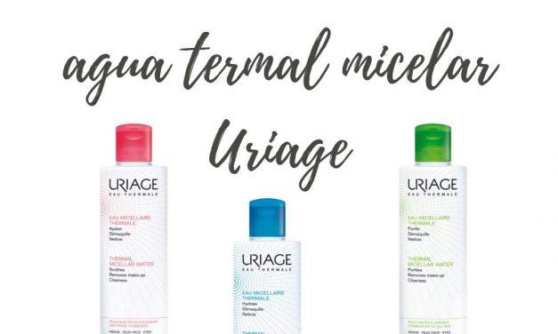 Agua micelar Termal de Uriage